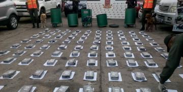 GNB Falcón incautó 100 panelas de presunta cocaína