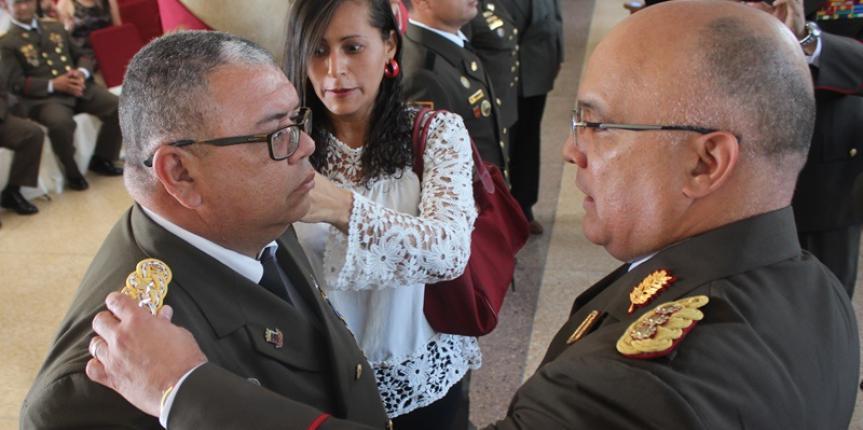 Más de 100 Oficiales de la GNB fueron ascendidos al grado inmediato superior