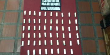GNB detuvo a sujeto con 40 dediles de cocaína Intraorgánicas en Anzoátegui