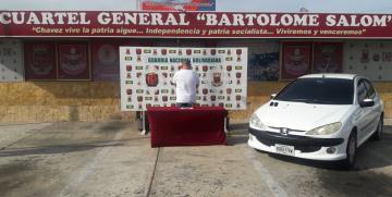 GNB detiene a un ciudadano con un arma de fuego en Paraguaná estado Falcón