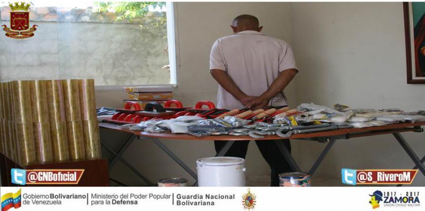 GNB Sucre detuvo a ciudadano recupera mercancía robada a Ferretería