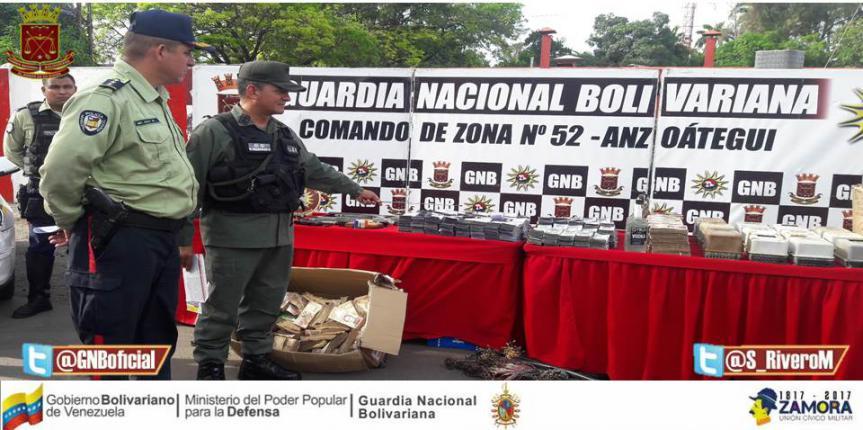 765 personas detuvieron en Anzoátegui en el mes de octubre