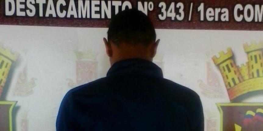 GNB capturó a ciudadano requerido por homicidio intencional
