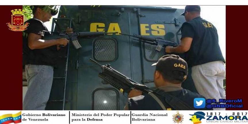 GAES 81 capturó a dos ciudadanos por extorsión en el Tigrito