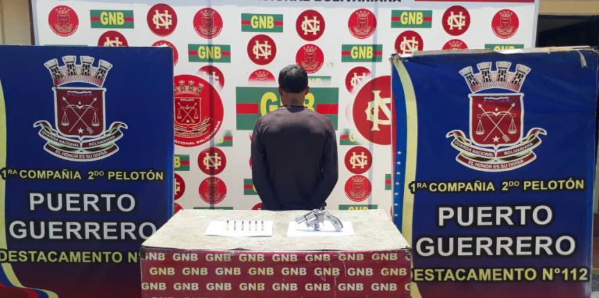 GNB Zulia reporta durante el fin de semana 3 armas retenidas, una banda desmantelada y un ciudadano detenido por microtráfico