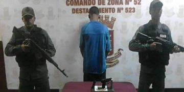GNB frustran robo y rescatan a familia en una finca en el estado Anzoátegui