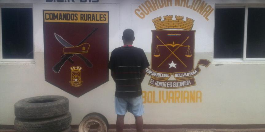 GNB detuvo a trabajador por presunto hurto de camioneta de Pdvsa