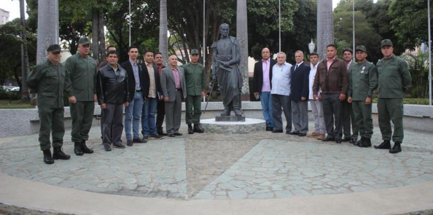 Comandante General de la GNB recibió visita  de Constituyentitas