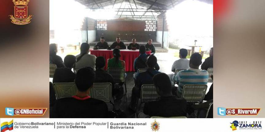 Mesa de trabajo de seguridad integral para el sector Agrícola, Avícola y Pesquero en el estado Vargas