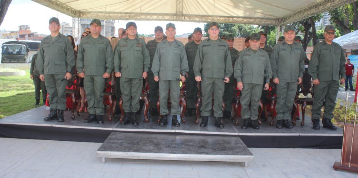 Cuartel general de la gnb cuenta con nuevo comandante