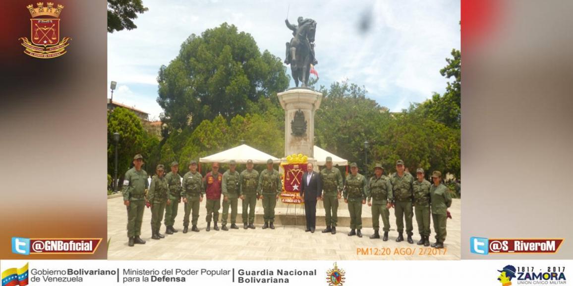 GNB Mérida realizó diversas actividades en conmemoración a los 80 aniversarios