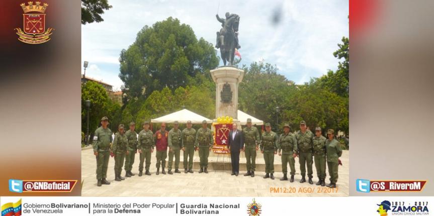 Con misa de acción de gracia, condecoraciones y ofrenda floral Conmemoraron en Mérida 80 aniversarios de la GNB