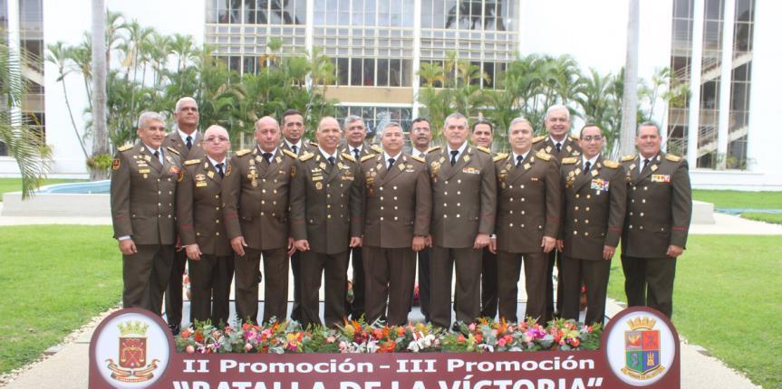 """GNB realizó Relevo Generacional de la Segunda Promoción """"Batalla de la Victoria 1986-2019"""""""