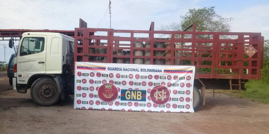 Comando de Vigilancia Costera logra desmantelar una banda delictiva  dedicada a la extracción ilegal de bombonas de gas doméstico de PDVSA