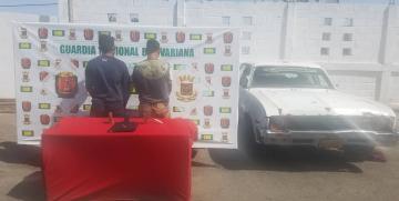 GNB Falcón capturó dos ciudadanos por resistencia a la autoridad y ocultamiento de arma blanca