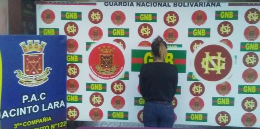 GNB Antidrogas incautó dos envoltorios de Marihuana en el estado Lara