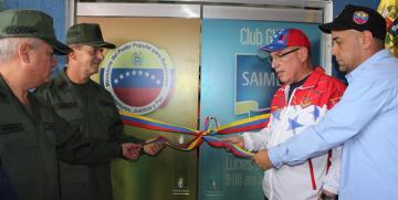 GNB Inauguró Oficina de SAIME en el Club Social del Distrito Capital