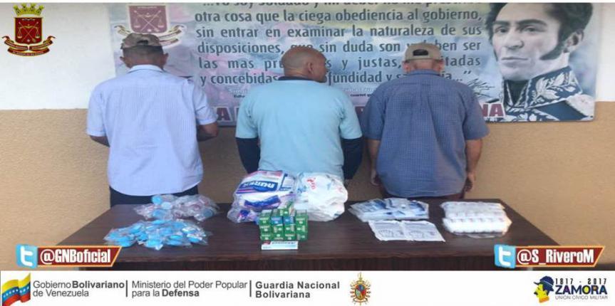 Detenidos por venta ilegal de insumos médicos en Puerto La Cruz