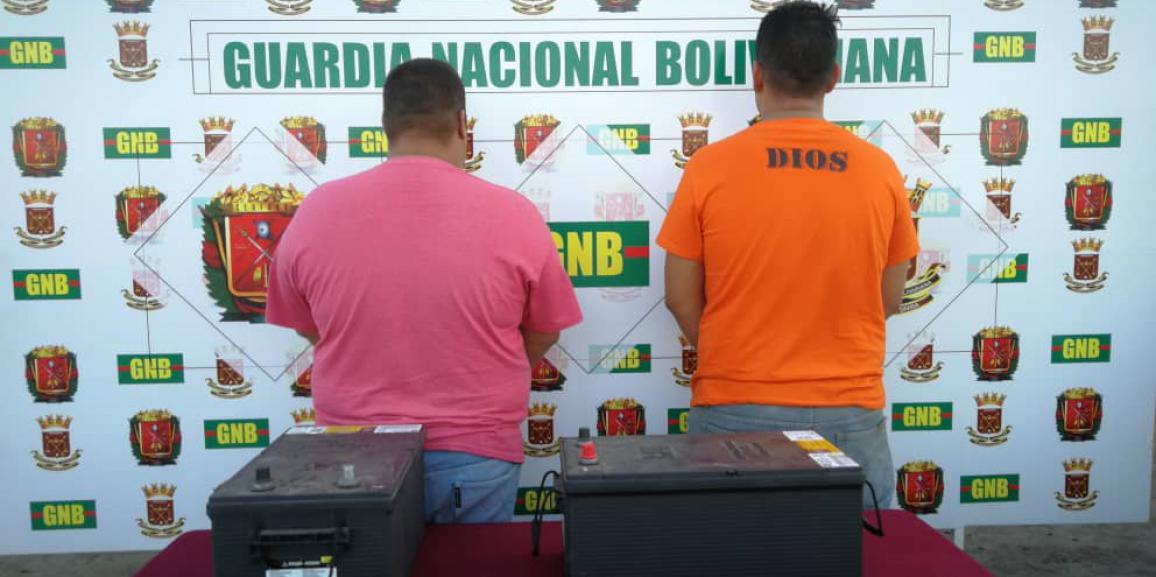 GNB Falcón desarticula dos Grupos estructurados de delincuencia organizada  ( GEDO) por el delito de hurto a las empresas estratégicas del Estado