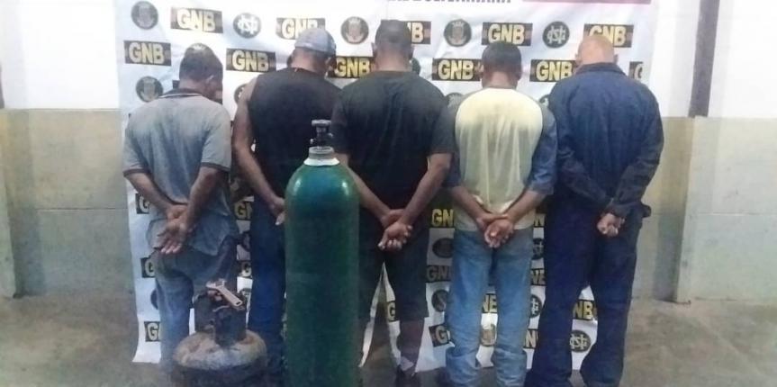 """GNB desmanteló banda """"Los Metaleros"""" en el estado Bolívar"""