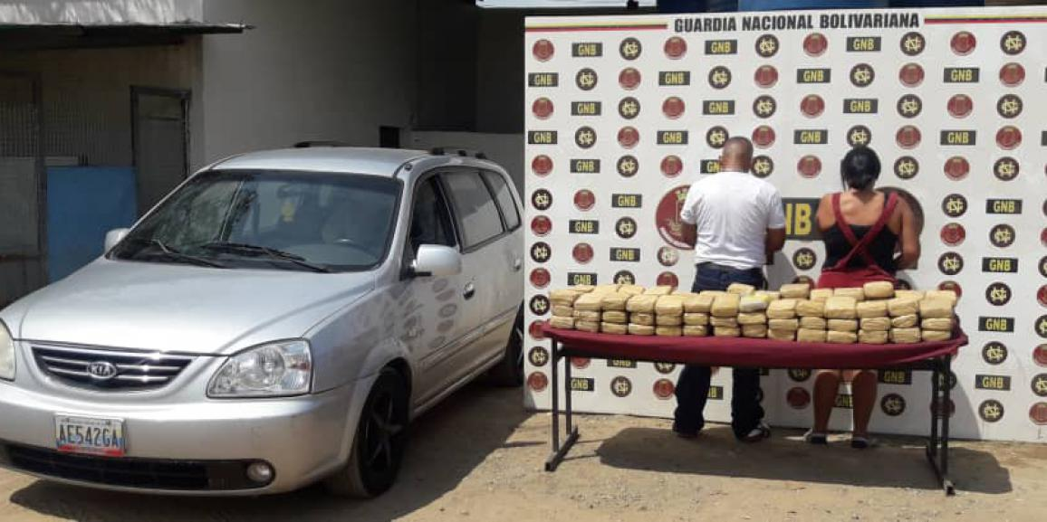 GNB incautó 88 panelas de marihuana al oeste de Anzoátegui