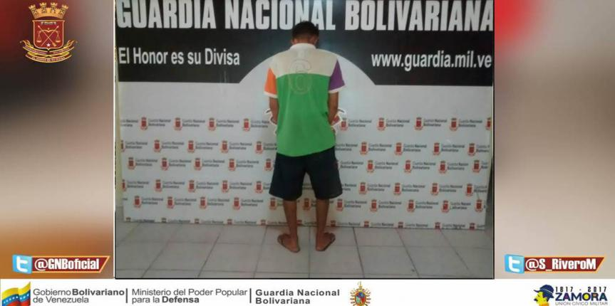 GNB Falcón capturó a 4 ciudadanos en diferentes procedimientos