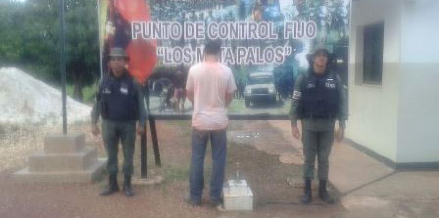Comando rurales detuvieron a prófugo de la justicia en el estado Cojedes