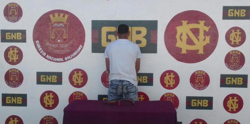 Comando de Vigilancia Costera detuvo a ciudadano con un arma de fuego  en el estado Sucre