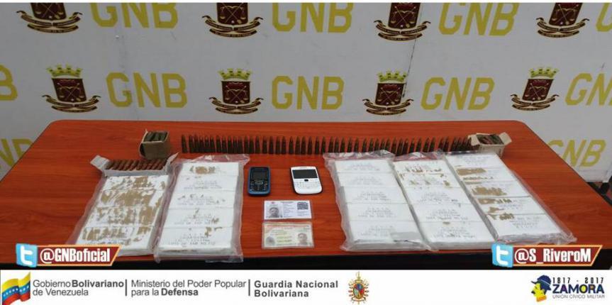 GNB Táchira capturó a ciudadana con cartuchos de fusil ocultos en la ropa