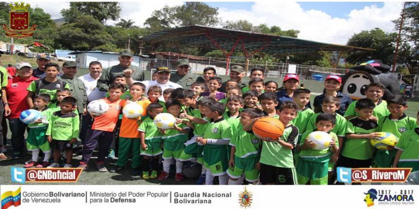 Activado núcleo de paz deportivo Escuela de Fútbol La Paz de Santa Anita en Mérida