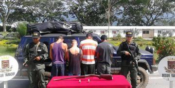 Desur Yaracuy detuvo a siete ciudadanos en diferentes delitos