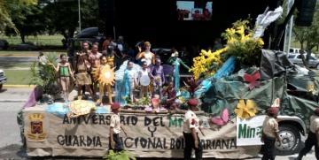 GNB Aragua realizó desfile ambiental en conmemoración del 79 Aniversario de la GNB