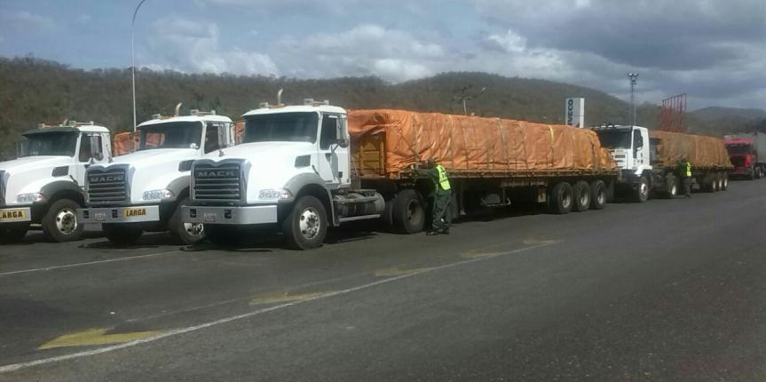Retenidas por la GNB 150 toneladas de arroz en Anzoátegui