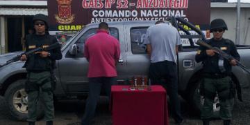 GAES capturó a dos ciudadanos armados en Anzoátegui