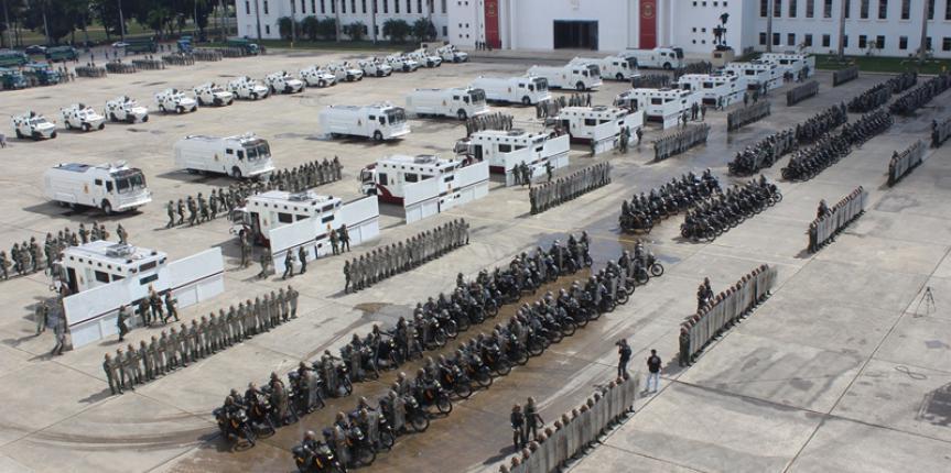 """G/J Padrino López: """"la paz debe reinar en Venezuela, debe imponerse por encima de todo"""