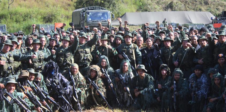 Ministro de la Defensa encabezó la demostración del Ejercicio Soberanía Bolivariana 2017 en la parroquia Macarao