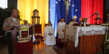 Misa de Acción de gracias con motivo del 81° Aniversario de la creación de la GNB