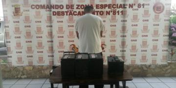 GNB arrestó a ciudadano por colaborar con casinos clandestinos en Anzoátegui