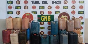 GNB desmanteló depósito clandestino de combustible en el estado Bolívar