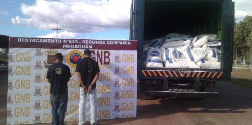 GNB Capturo dos piratas de carretera estado Guarico