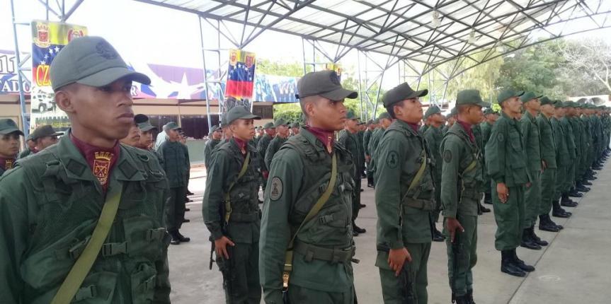 Juramentación de la Promoción 108 se realizó en el Comando de Zona N° 11 Zulia