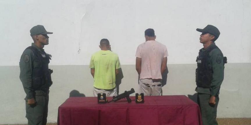 Desur capturó a pistoleros perpetrando robo en Guárico