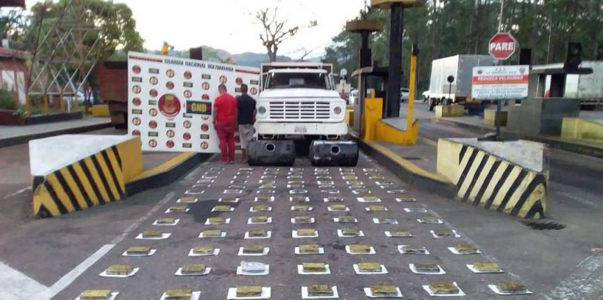 GNB incautó más de 100 kilos de cocaína en Táchira