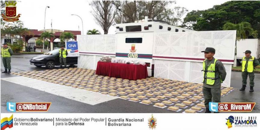 GNB incautó 251 envoltorios de marihuana en Táchira