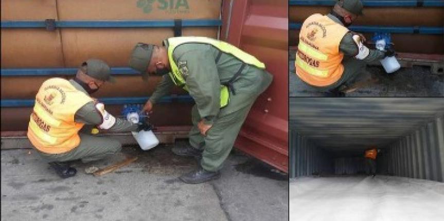 Gnb retiene 96.000 litros de combustible tipo JET-A1