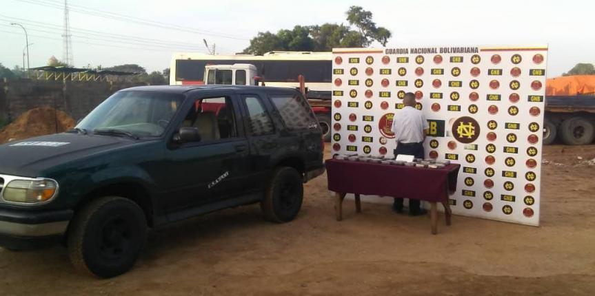 GNB incautó más de 75 kilos de cocaína en oeste de Anzoátegui