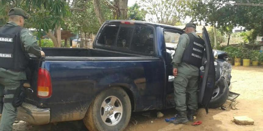 GNB Zulia rescató a tres ciudadanos secuestrados en la Cañada de Urdaneta