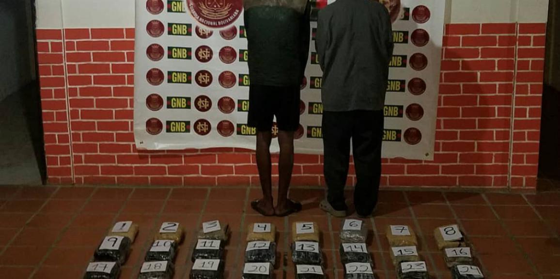 Comando de vigilancia costera incauta 59 kilogramos de droga en el estado Delta Amacuro