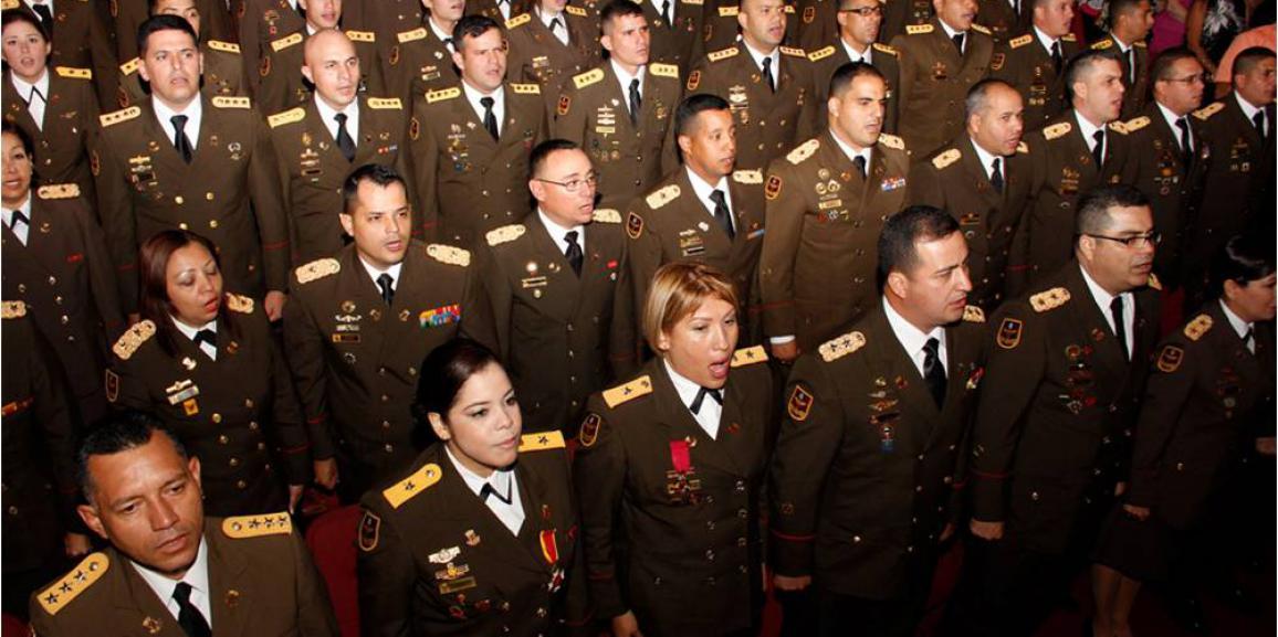 Resueltos de Ascensos del Personal Militar de la Guardia Nacional Bolivariana