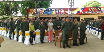 Comando de Zona 11 Zulia realiza misa de acción de gracias por el 11 Aniversario del CEOFANB
